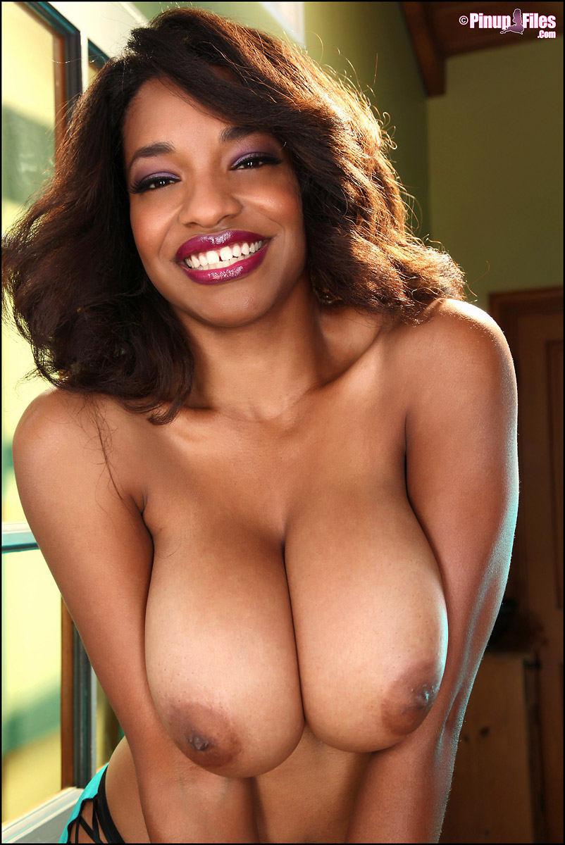 Your Super beautiful pretty black ebony women nude something